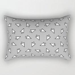 Click Me Rectangular Pillow