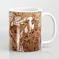 spider man Mugs featuring Spider Man by Redeemed Ink by - Kagan Masters
