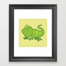 iguana Framed Art Print