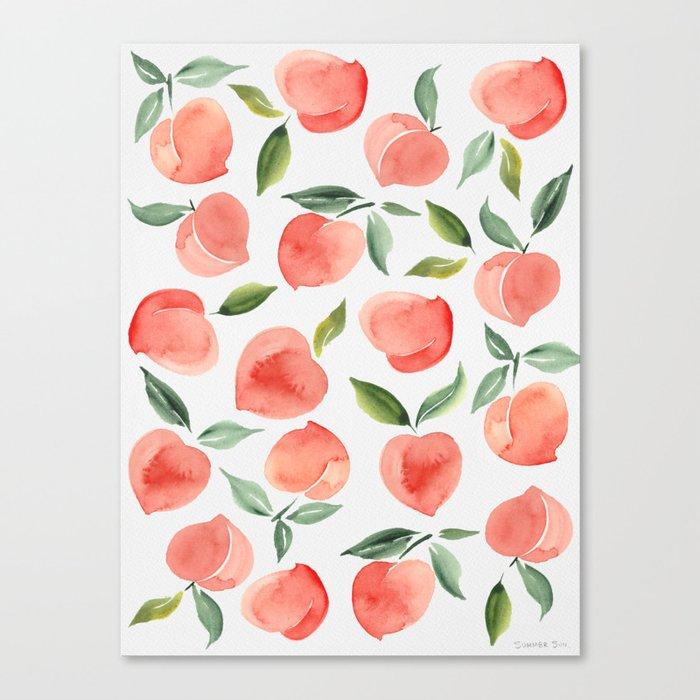 peaches Leinwanddruck