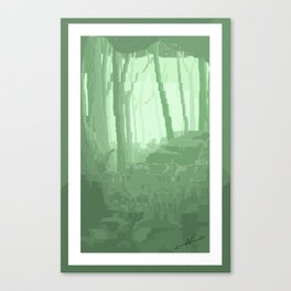 Lo Res Grove Canvas Print