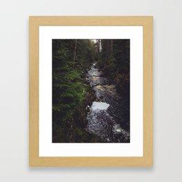 Pattack Falls Framed Art Print