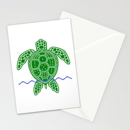Magic Square Turtle Stationery Cards