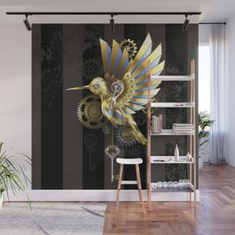 Mechanical Hummingbird Wall Mural