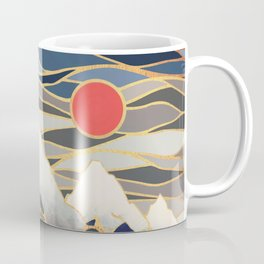 Ice Mountains Coffee Mug