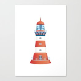 nautical lighthouse Canvas Print