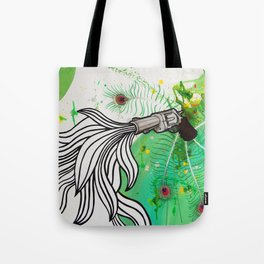 Beauty and the Death Machine Tote Bag