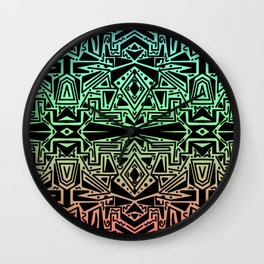 Scattered Sketch Wall Clock
