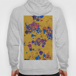 Vibrant Multi Color Abstract Design Hoody