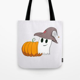 Ghostie's Prize Pumpkin Tote Bag