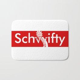 Schwifty Box Logo Bath Mat