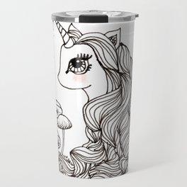 MAGICAL UNICORN, NURSERY, FANTASY ART Travel Mug