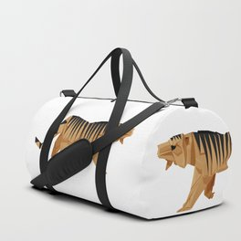 Origami Tiger Duffle Bag