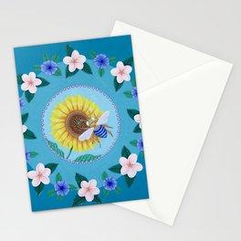 Australian Spring Mandala Stationery Cards