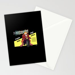 Clowns vs Mimes Stationery Cards