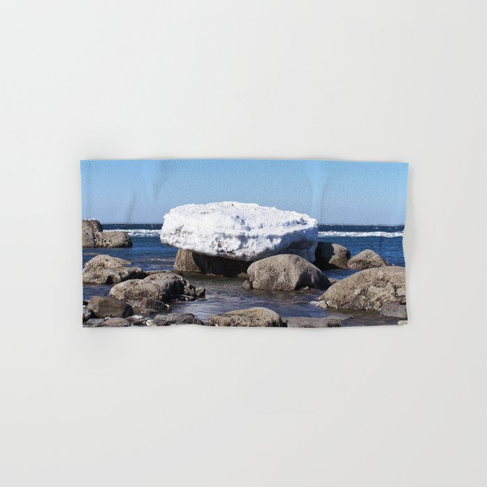 Perched on the Boulders Hand & Bath Towel
