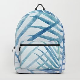 Coastal Palms Watercolor Backpack