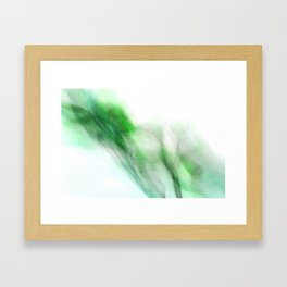 Floral Abstract I - JUSTART © Framed Art Print