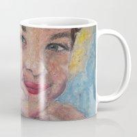 child Mugs featuring child by Caterina Zamai