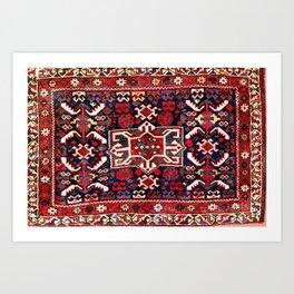 Khamseh Fars Southwest Persian Bag Face Print Art Print