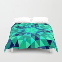 teal Duvet Covers featuring teal. by 2sweet4words Designs
