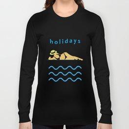 Holidays! Long Sleeve T-shirt