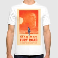 Mad Max: Fury Road Mens Fitted Tee MEDIUM White