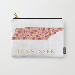 Tennessee map Carry-All Pouch