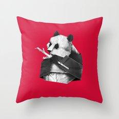 Pandagami Throw Pillow