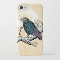 key iPhone & iPod Cases featuring Raven's Key by Rachel Caldwell