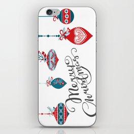 Christmas iPhone Skin