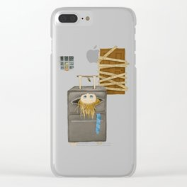 Do not leave me Clear iPhone Case