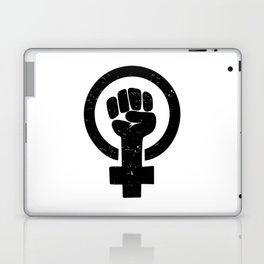 Feminist Raised Fist Laptop & iPad Skin