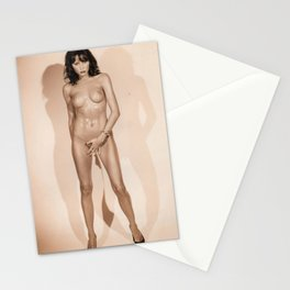 Slovenia - Melanija Knavs - FLOTUS - Melania Knauss Trump - Naked - Sexy - Society6 - Stationery Cards