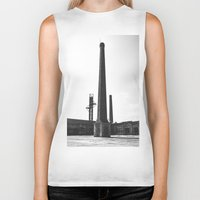 industrial Biker Tanks featuring Industrial by Renata's Photobox