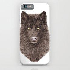 Black Wolf iPhone 6s Slim Case