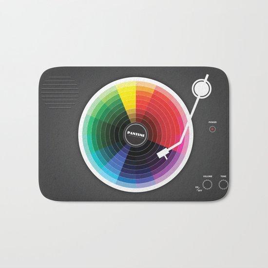 Pantune - The Color of Sound Bath Mat
