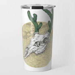 Deer Cactus Travel Mug