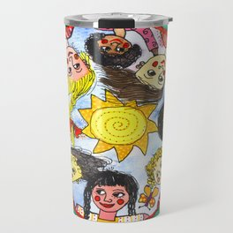 LOS NIÑOS DE CHIAPAS Travel Mug