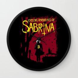 Chilling Adventures Of Sabrina Wall Clock