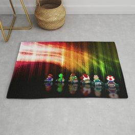 Super Mario Kart - Pixel art Rug