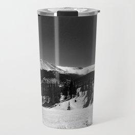 Colorado in Black and White Travel Mug
