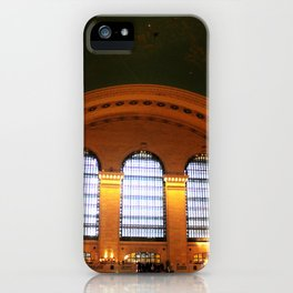Golden Light in Grand Central Station NYC iPhone Case