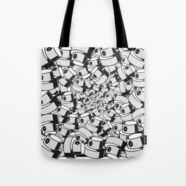 fat cap infinity flow style square ver 0.1. Tote Bag