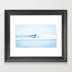 Malibu Blurry Morning Framed Art Print