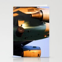 plane Stationery Cards featuring Plane by Luc Girouard