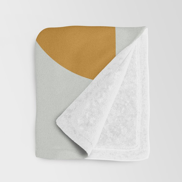 Mid Century Geometric 13 Throw Blanket