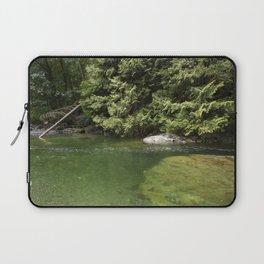 Waterhole in the Forest Laptop Sleeve