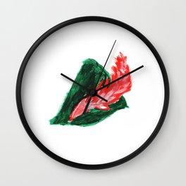 Peter Pan Hat Wall Clock
