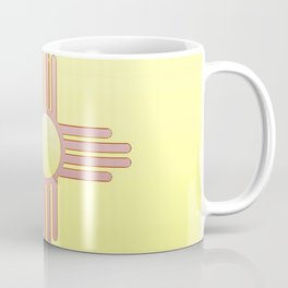 Flag of new mexico  -with color gradient Coffee Mug
